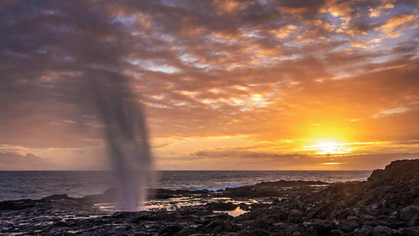 Photograph - Spouting Horn Sunset by Pierre Leclerc Photography