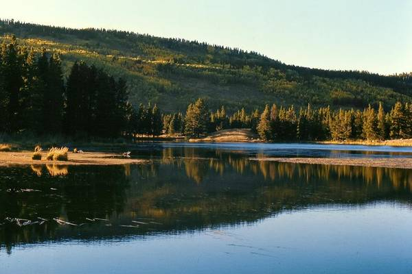 Photograph - Sprague Lake At Dusk Rocky Mountain National Park by NaturesPix