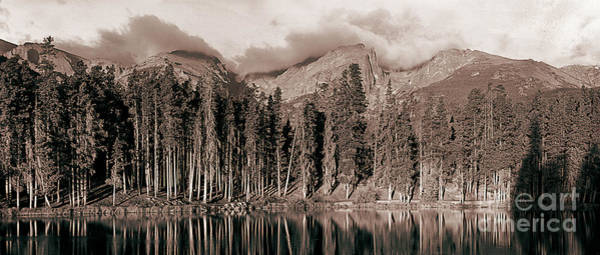 Indian Peaks Wilderness Photograph - Sprague Lake Morning by Thomas Bomstad