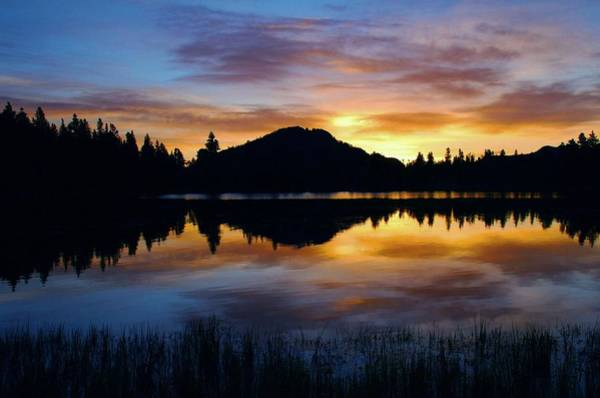 Wall Art - Photograph - Sprague Lake Sunrise Reflections by Stephen  Vecchiotti