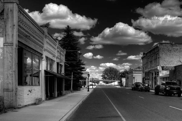 Photograph - Downtown Sprague by Lee Santa