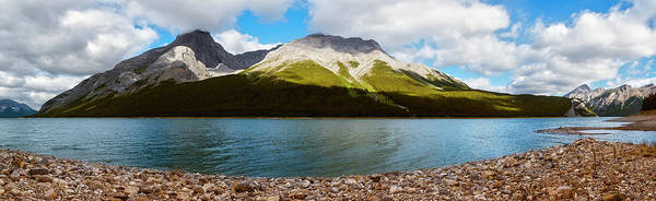 Photograph - Spray Lakes Reservoir Alberta Canada by Joan Carroll