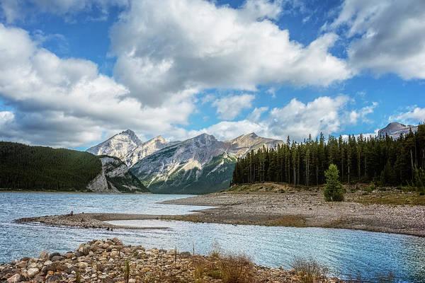 Photograph - Spray Lakes Reservoir Sunrise by Joan Carroll