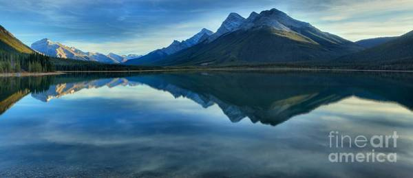Photograph - Spray Valley Provincial Park Reflections by Adam Jewell
