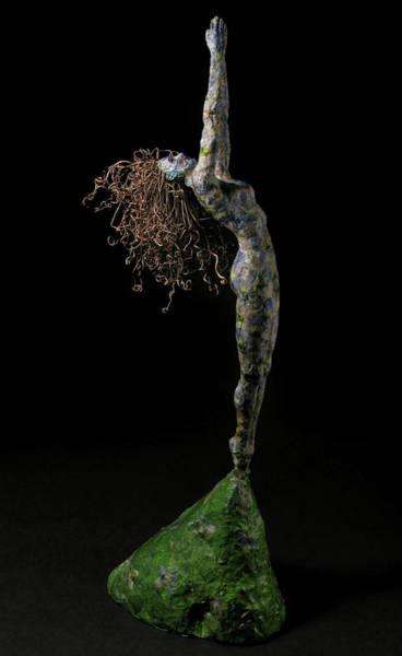 Long Legs Wall Art - Mixed Media - Spring A Sculpture By Adam Long by Adam Long