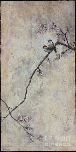 Wax Painting - Spring At Last by Lori McNee