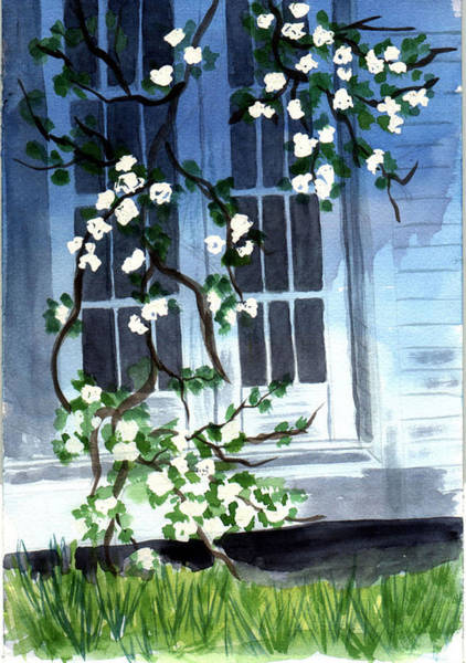 Painting - Spring At Mom's by Jane Croteau