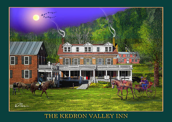 Photograph - Spring At The Kedron Valley Inn by Nancy Griswold