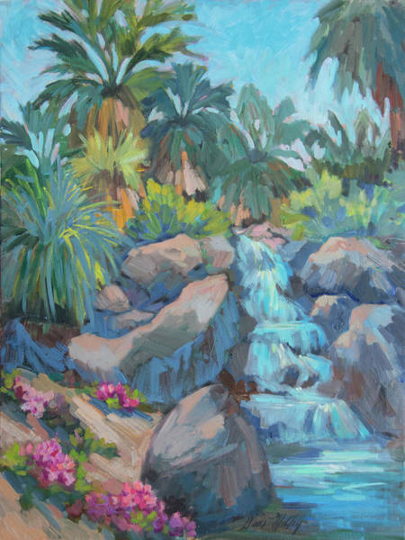 Wall Art - Painting - Spring At The Living Desert by Diane McClary