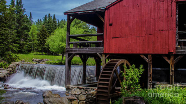 Photograph - Spring At The Old Saw Mill by Scenic Vermont Photography
