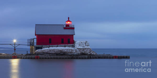 Haven Photograph - Spring At The Outer Range Light by Twenty Two North Photography