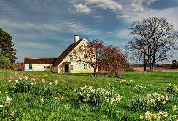 Spring At The Paine House Art Print