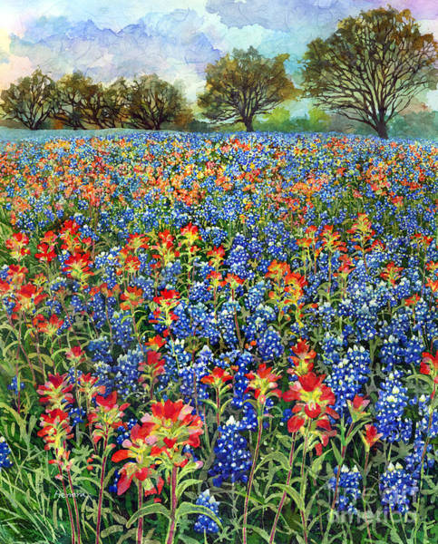 Wildflowers Wall Art - Painting - Spring Bliss by Hailey E Herrera