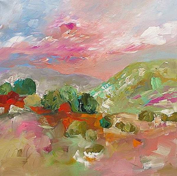 Fauve Painting - Spring Bloom by Linda Monfort