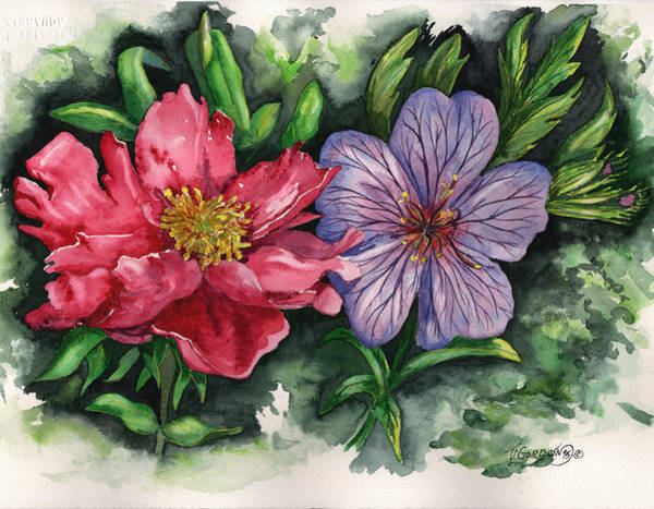 Wall Art - Painting - Spring Blooms by Timithy L Gordon