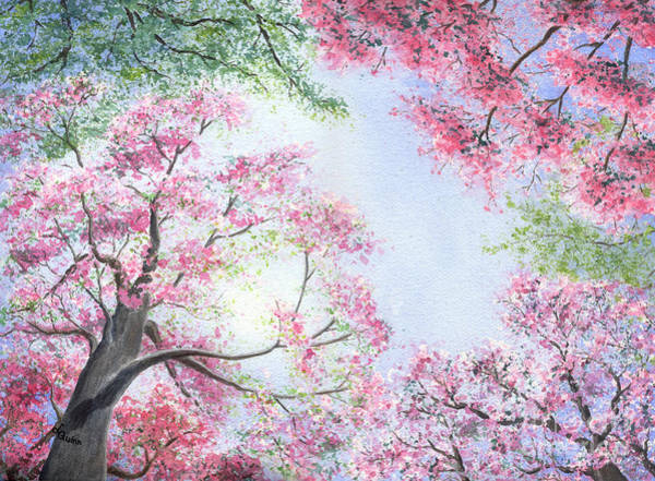 Painting - Spring Blossoms by Lynn Quinn
