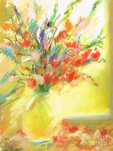 Wall Art - Pastel - Spring Bouquet by Frances Marino