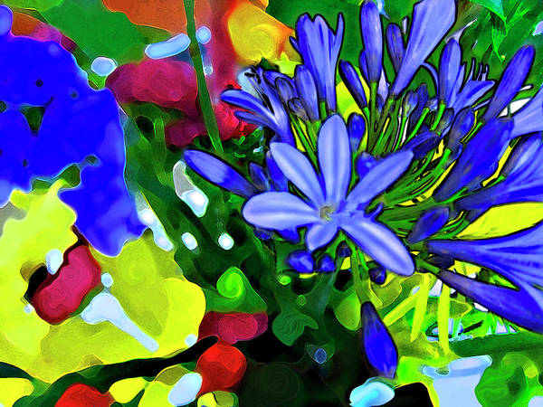 Digital Art - Spring Bouquet by Gina Harrison
