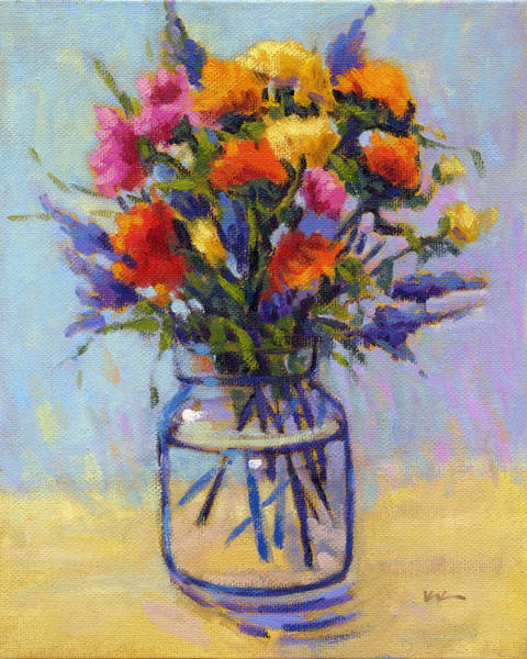 Painting - Spring Bouquet by Konnie Kim