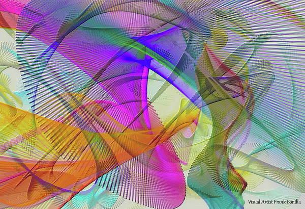 Digital Art - Spring Break by Visual Artist Frank Bonilla