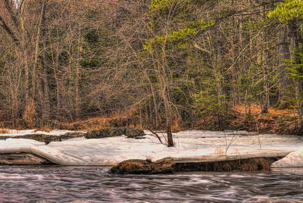 Photograph - Spring Breakup At Eau Claire Dells Park by Dale Kauzlaric