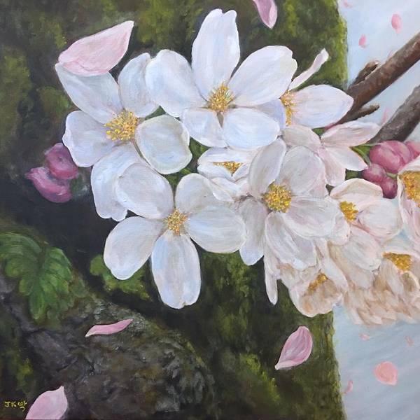 Wall Art - Painting - Spring Breeze  by Jennifer Kwon