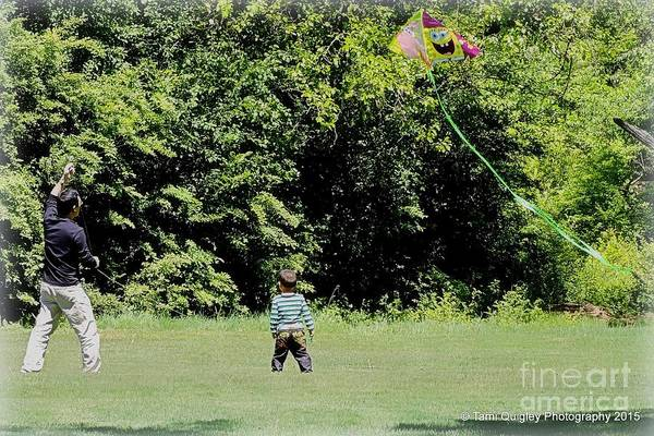 Flying A Kite Photograph - Spring By Heart by Tami Quigley