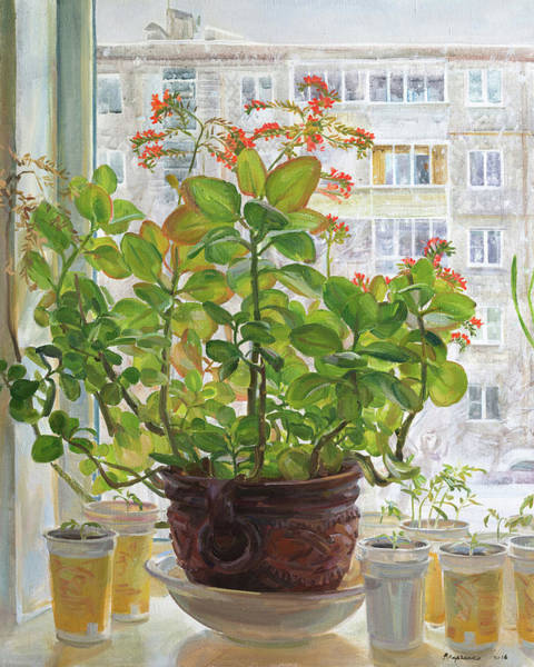 Wall Art - Painting - Spring Cannot Fail To Come by Victoria Kharchenko