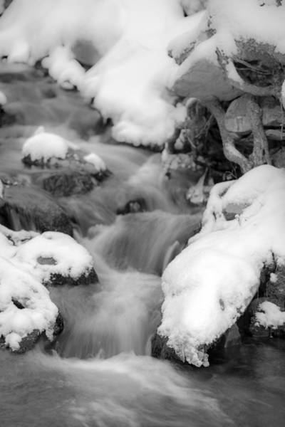 Photograph - Spring Cascade by Sara Hudock