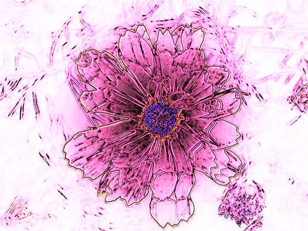 Growing Up Digital Art - Spring Celebration by Brenda Landdeck