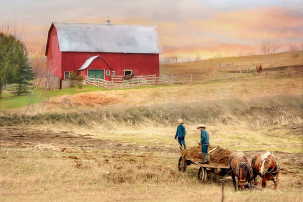 Wall Art - Photograph - Spring Chores by Lori Deiter