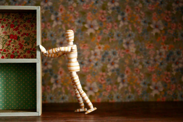 Doll House Photograph - Spring Cleaning by Heike Hultsch