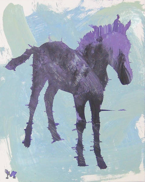 Painting - Spring Colt by Candace Shrope