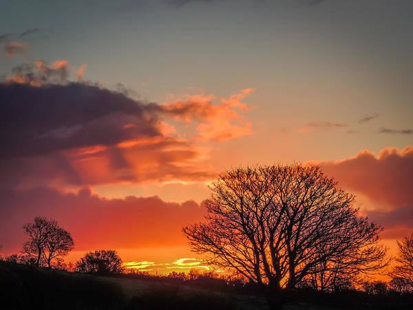 Photograph - Spring County Clare Sunrise by James Truett