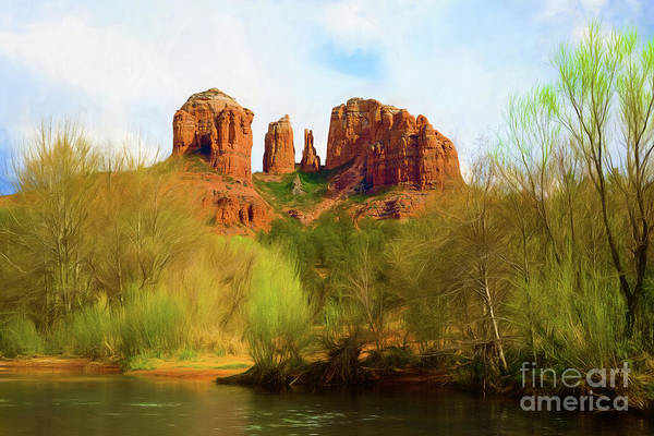 Photograph - Spring Dreams At Cathedral Rock by Jon Burch Photography