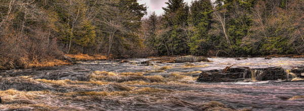 Photograph - Spring Eau Claire Dells Park Panoramic by Dale Kauzlaric