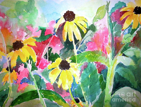 Painting - Spring Fling by Patsy Walton