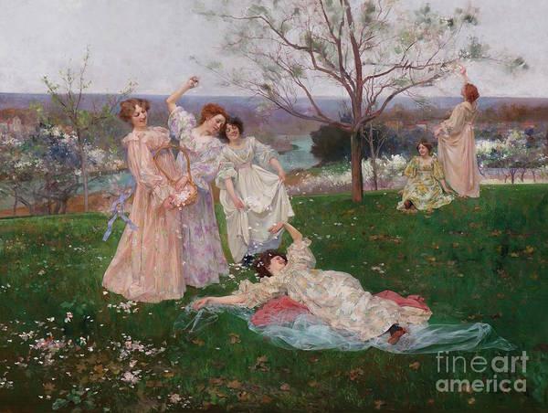 Wall Art - Painting - Spring Flowers by Albert-Emile Artigue