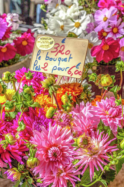 Wall Art - Photograph - Spring Flowers At Market by W Chris Fooshee