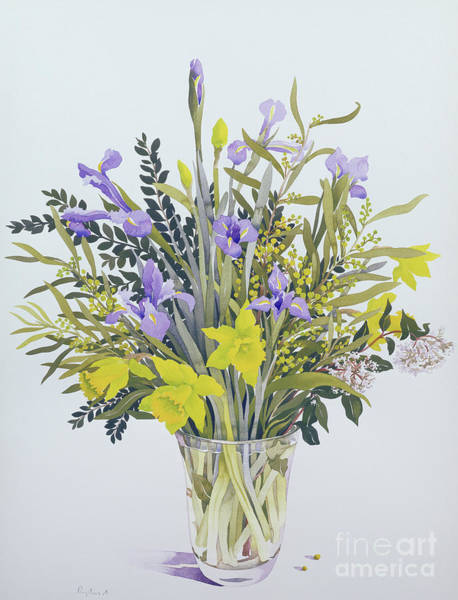 Wall Art - Painting - Spring Flowers by Christopher Ryland