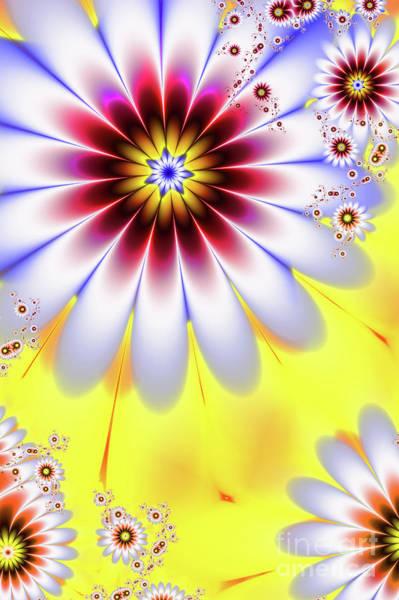 Wall Art - Digital Art - Spring Flowers by John Edwards