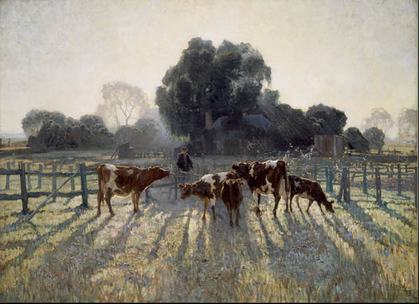 Wall Art - Painting - Spring Frost 1919 by Elioth Gruner