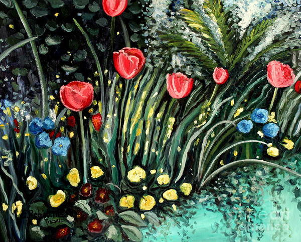 Painting - Spring Garden by Elizabeth Robinette Tyndall