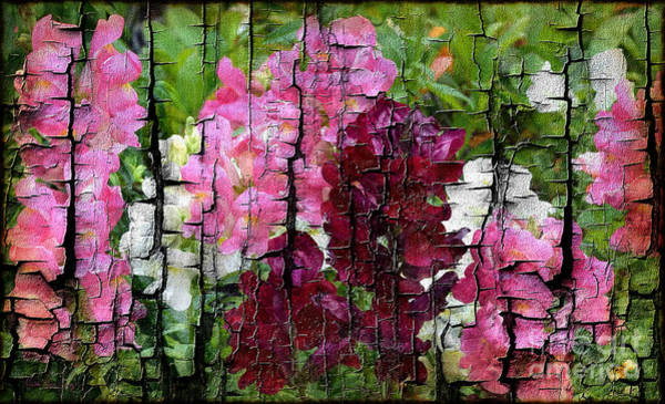 Painting - Spring Garden H131716 by Mas Art Studio