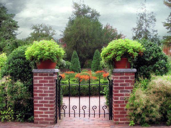 Formal Garden Photograph - Spring Garden by Jessica Jenney