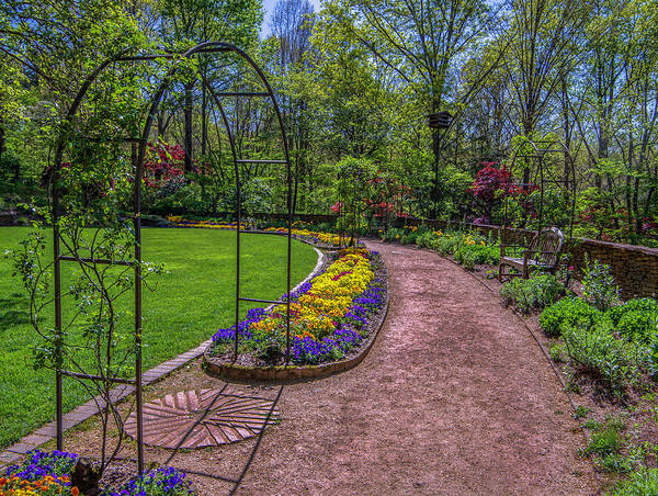 Photograph - Spring Garden by Keith Smith