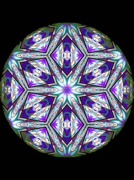 Digital Art - Spring Garden Mandala by Susan Maxwell Schmidt