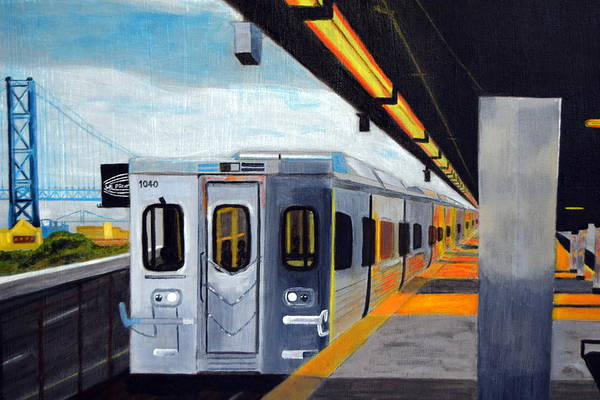Philae Painting - Spring Garden Station by Michael Walsh