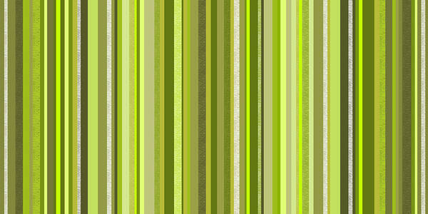Wall Art - Digital Art - Spring Green Stripe Abstract by Val Arie