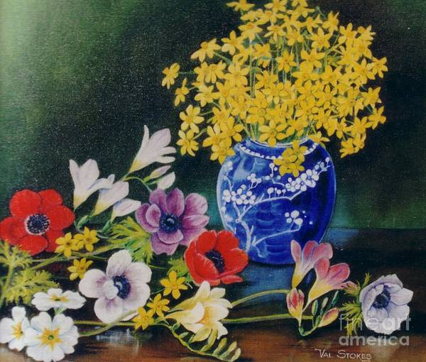 Painting - Spring Has Sprung by Val Stokes